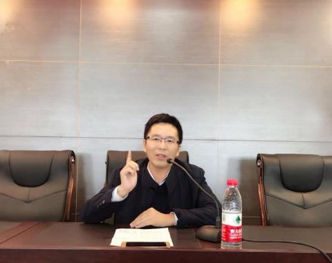 聂龙副院长应邀到食品药品分院开展国学知识讲座