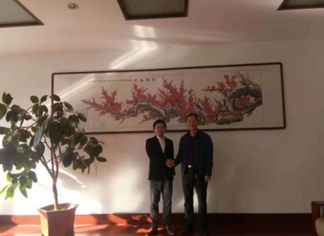 日本长冈大学客人来我院访问并招考赴日留学生