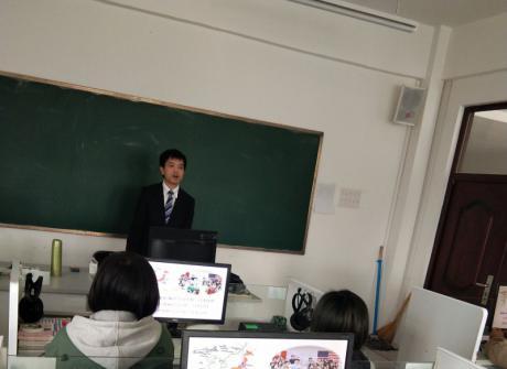 日本新泻综合学园来我院招收留学生