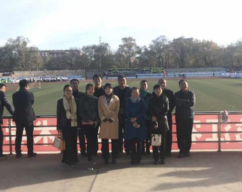 食品药品分院党支部参加黑农职院首届尚武杯武术团体赛
