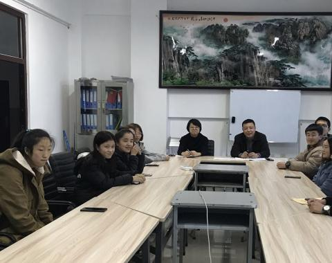 """食品药品党支部举行""""党员联系班级  服务学生""""活动启动仪式"""