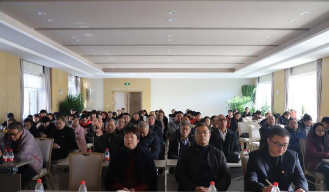 学院党群联合党支部参加前进区党员教育专题学习活动
