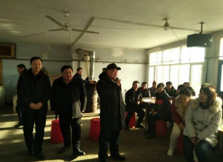 学院领导深入富锦市慰问我院农村劳动力转移培训班教师