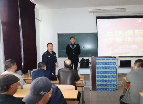 我院开展后勤工作人员消防安全知识培训