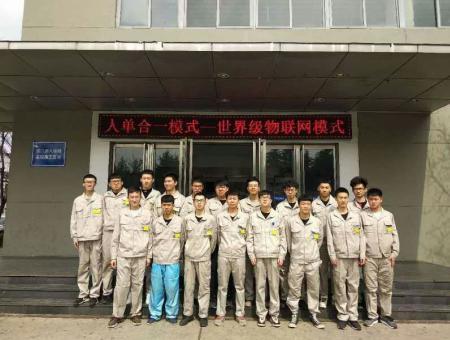 我院机电专业学生在青岛海尔集团工作表现出色,得到高度认可